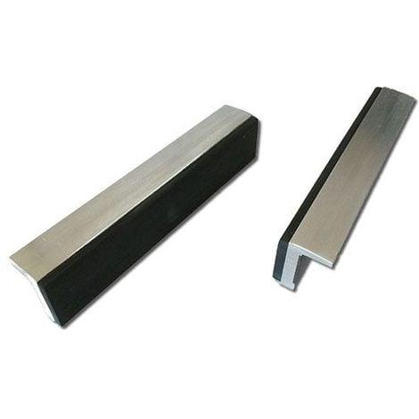 Mors doux DOLEX 125mm aluminium et caoutchouc