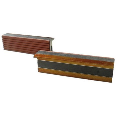 Mors Magnétiques Avec Revêtement Gomme Caoutchouc Standard 150 Mm