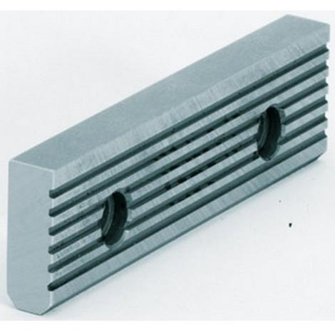 Mors normal SGN pour étaux machine RB/RS/UZ, Pour taille : 5, Larg. : des mors 200 mm