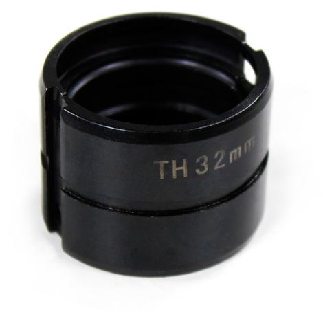 Mors TH 32mm pour pince à sertir manuelle