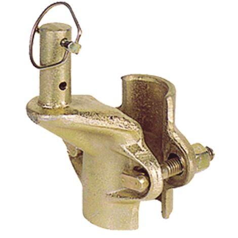"""main image of """"MORSETTO PER ATTACCO A TUBO per elettrocarrucola"""""""