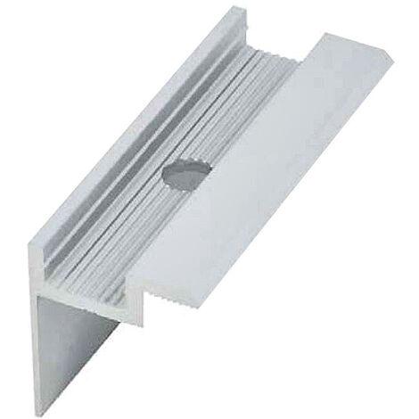 """main image of """"Morsetto terminale per fissaggio pannelli fotovoltaici di altezza/spessore"""""""