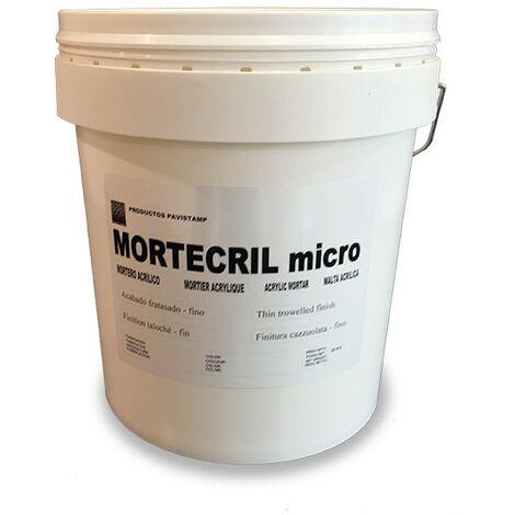 Mortero acrílico Mortecril Micro