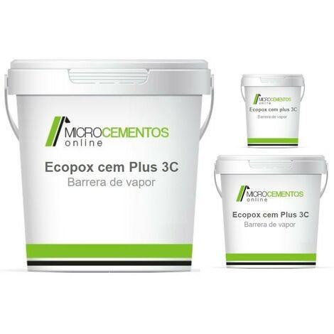Mortero barrera de vapor a contrapresión Ecopox Cem Plus 3C
