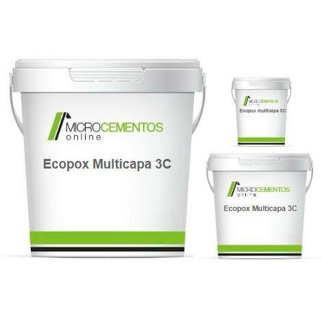 Mortero epóxi Ecopox Multicapa 3C