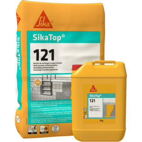 Mortero Impermeabilizante SIKA SikaTop 121 Superficie - Kit 10.7kg