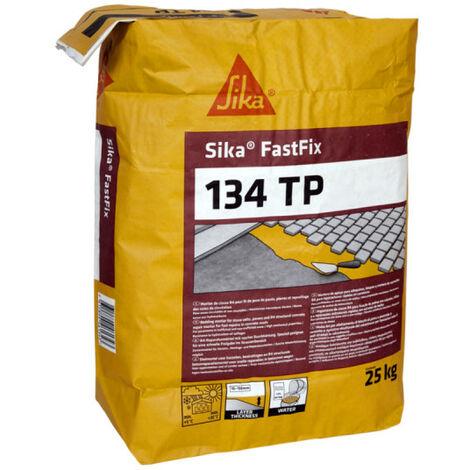 Mortero para el lecho de la carretera y el revestimiento SIKA FastFix 134 TP - Gris - 25kg - Gris