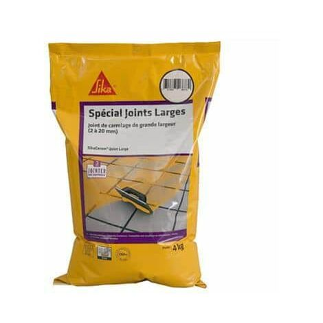 Mortero para juntas de azulejos y baldosas grandes de 2 a 20 mm de ancho CG2W - SIKA SikaCeram Junta grande - Gris - 4kg
