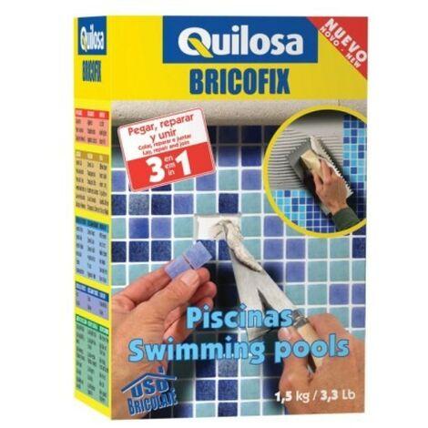 Mortero rest. piscina 1,5 kg bricofix quilosa