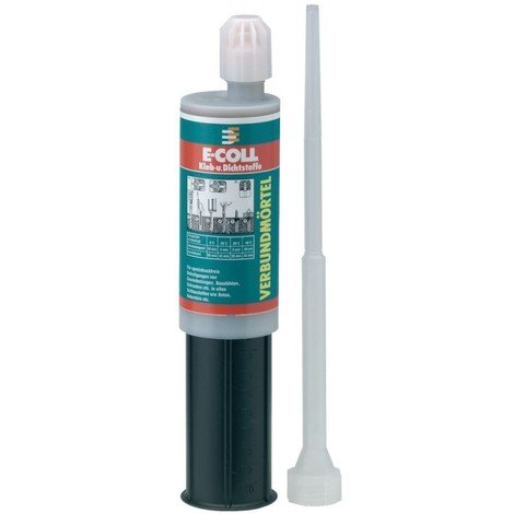 Mortier a injecter - Scellement chimique 380ml E-COLL (Par 12)