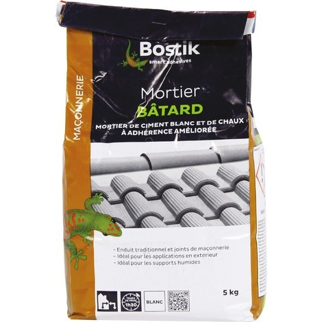 Mortier batard Bostik - Sac 5 kg