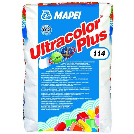 Mortier de jointement pour joints ULTRACOLOR PLUS - Pack alu 5 Kg - 112 GRIS MOYEN