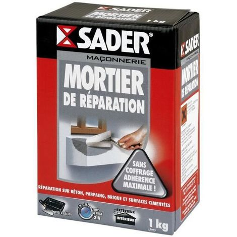 Mortier de réparation Sader 1kg