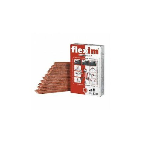 Mortier de toiture Flexim rouge paquet de 10 plaquettes BWK