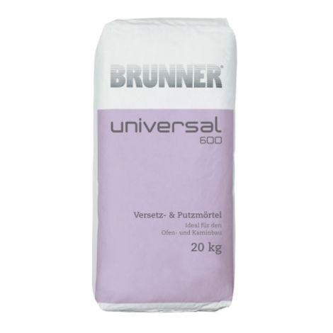 Mortier - Enduit blanc Universal 600 sac de 20 kg