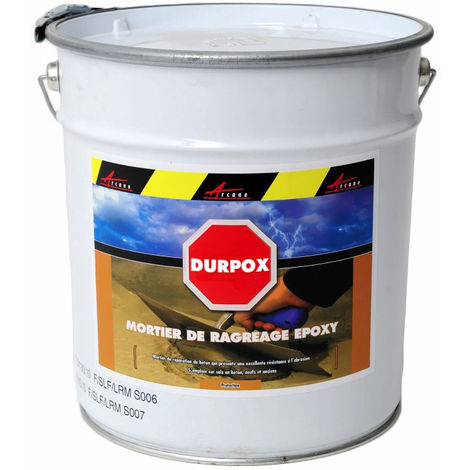 Mortier epoxy de réparation express - DURPOX - ARCANE INDUSTRIES - Gris - 5 Kg
