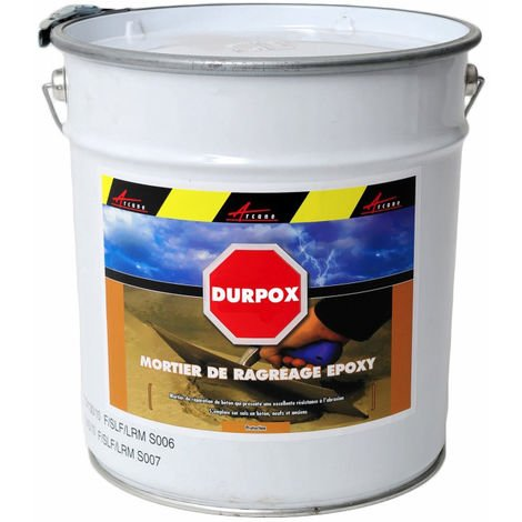 Mortier epoxy de réparation express - DURPOX - ARCANE INDUSTRIES - Gris - 5 Kg - Gris