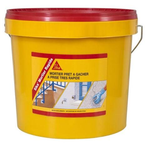 Mortier hydraulique SIKA Mortier Rapide - 5kg - Gris