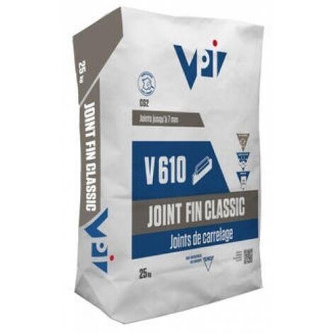 Mortier Joint Souple V640 Blanc - Différents conditionnements - VPI