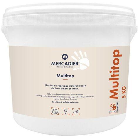 Mortier minéral multifonctions Multitop - Les 3 Matons - 25 kg