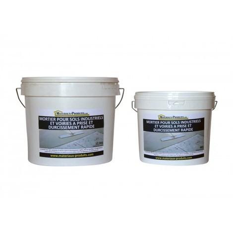 Mortier pour sols industriels et voiries à prise et durcissement très rapide