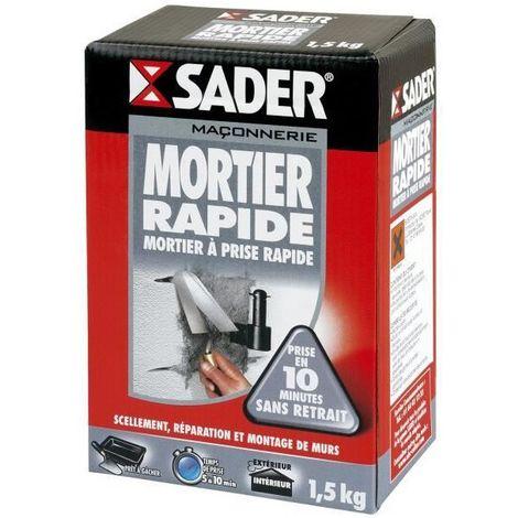 Mortier rapide Sader 1,5kg
