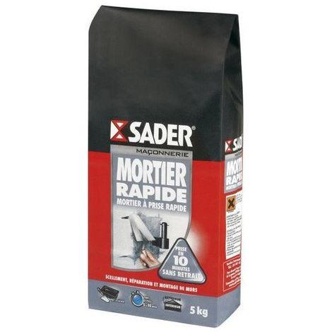 Mortier rapide Sader 5kg