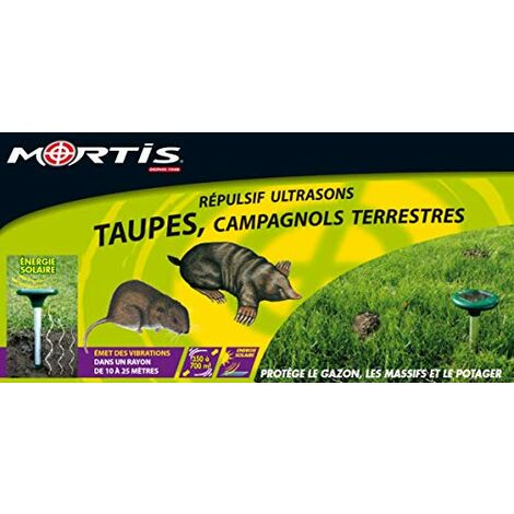Mortis RePULSIF ULTRASONS Taupes - CAMPAGNOLS - SYSTaˆME PHOTOVOLTAaQUE RUST52