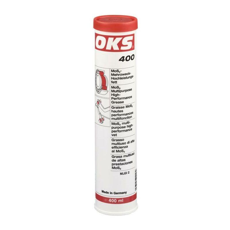 Oks ® - OKS Graisse haute performance MoS2 400 noir 400 ml