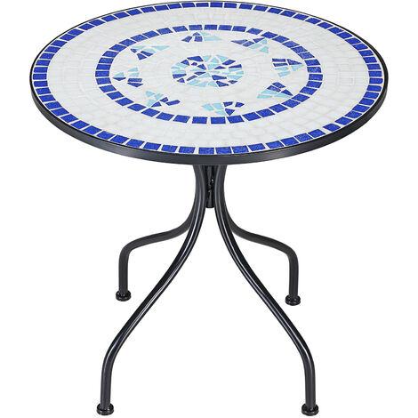 "Mosaic bistro table ""Neptune"" Design Garden Terrace furniture"