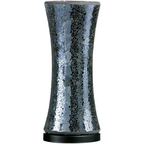 Mosaic Lamp Black Glass - Elegant and Chic Glass Shape Lighting