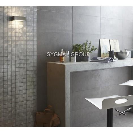 Mosaic splashback kitchen aluminum ma-alu48