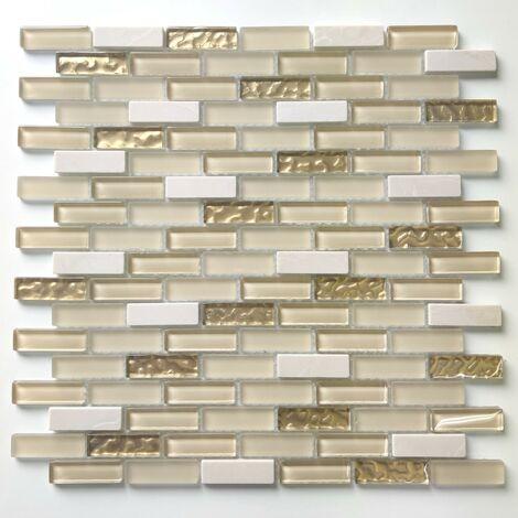 mosaic tile backsplash bathroom and shower Aramis