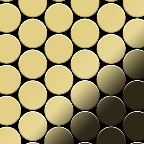 Mosaic tile massiv metal Brass mill gold 1.6mm thick ALLOY Medallion-BM