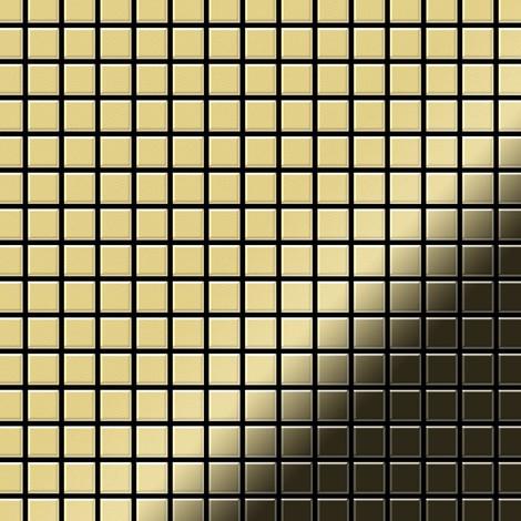 Mosaic tile massiv metal Brass mill gold 1.6mm thick ALLOY Mosaic-BM