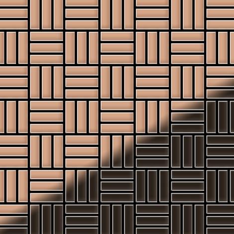 Mosaic tile massiv metal Copper mill copper 1.6mm thick ALLOY Basketweave-CM