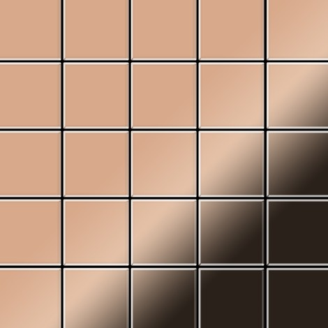 Mosaic tile massiv metal Copper mill copper 1.6mm thick ALLOY Century-CM