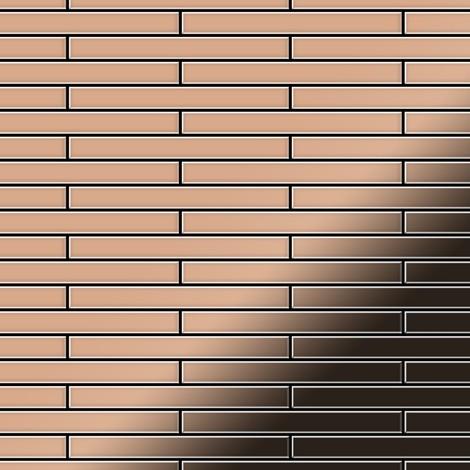 Mosaic tile massiv metal Copper mill copper 1.6mm thick ALLOY Deedee-CM