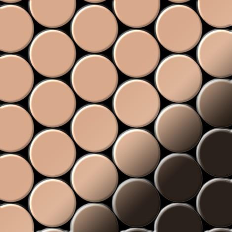Mosaic tile massiv metal Copper mill copper 1.6mm thick ALLOY Dome-CM