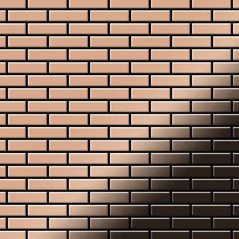 Mosaic tile massiv metal Copper mill copper 1.6mm thick ALLOY PK-CM