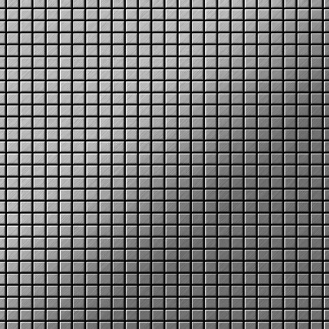 Mosaic tile massiv metal Stainless Steel marine brushed 1.6mm thick ALLOY Glomesh-S-S-MB