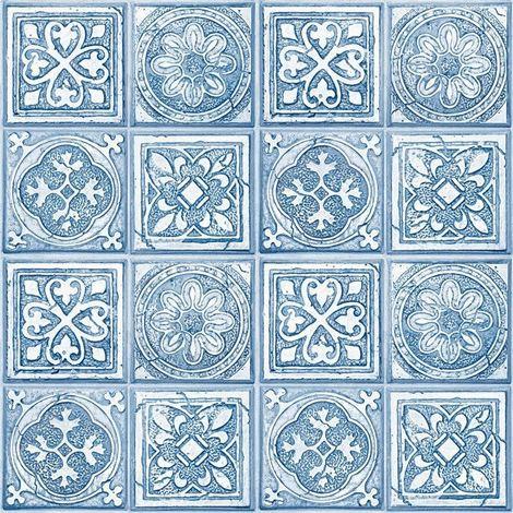 Mosaic Tile Moroccan Wallpaper Squares