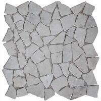 Mosaic Tiles 11 pcs Marble Gold 1 m²