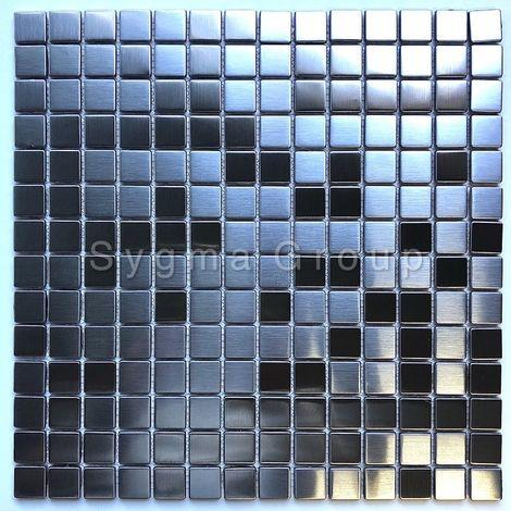 mosaico acero inoxidable cocina y baño CARTO