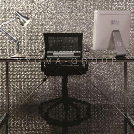 mosaico alluminio spazzolato metallo cucina ma-konik