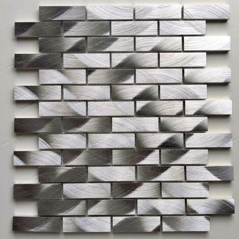 mosaico aluminio de metal cocina Atom