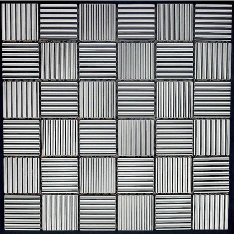 mosaico azulejo de acero inoxidable mi-dam-str