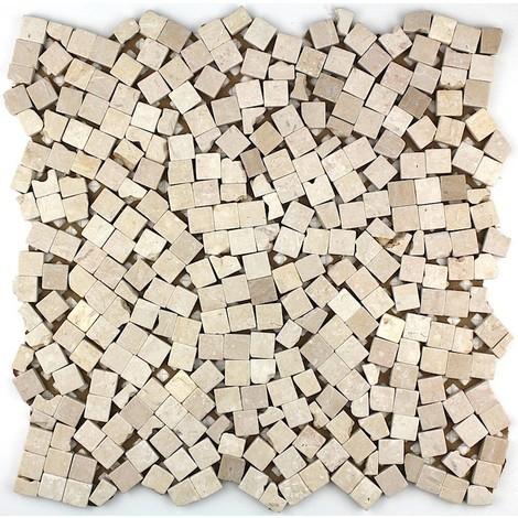 Mosaico de mármol baldosas de mármol Sultan Beige