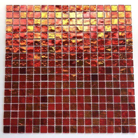 mosaico de vidrio para pared y suelo mv-glo-oran