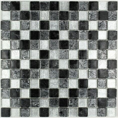mosaico de vidrio para pared y suelo mv-lux-noi23
